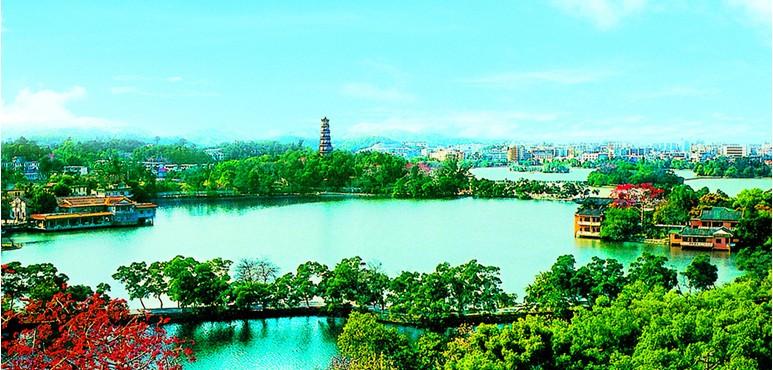惠州人才网推荐旅游景点:惠州西湖