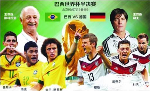 2014世界杯德国对巴西7:1